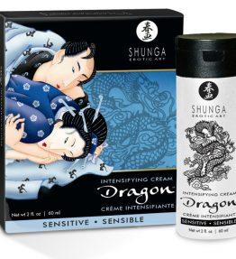 SHUNGA DRAGON SENSITIVE CREAM PER COPPIE